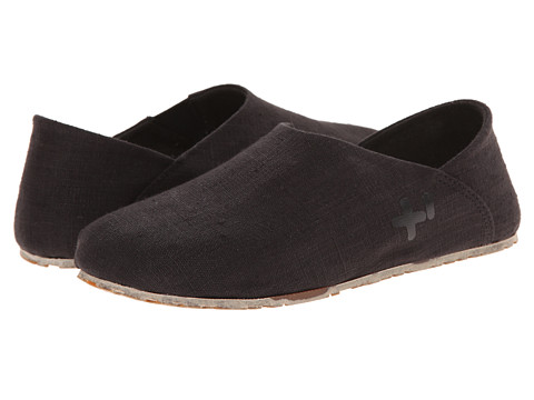 OTZ - Espadrille (Black Linen) Women's Slip on Shoes
