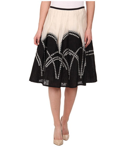 NIC+ZOE - Roam Free Patio Skirt (Multi) Women's Skirt