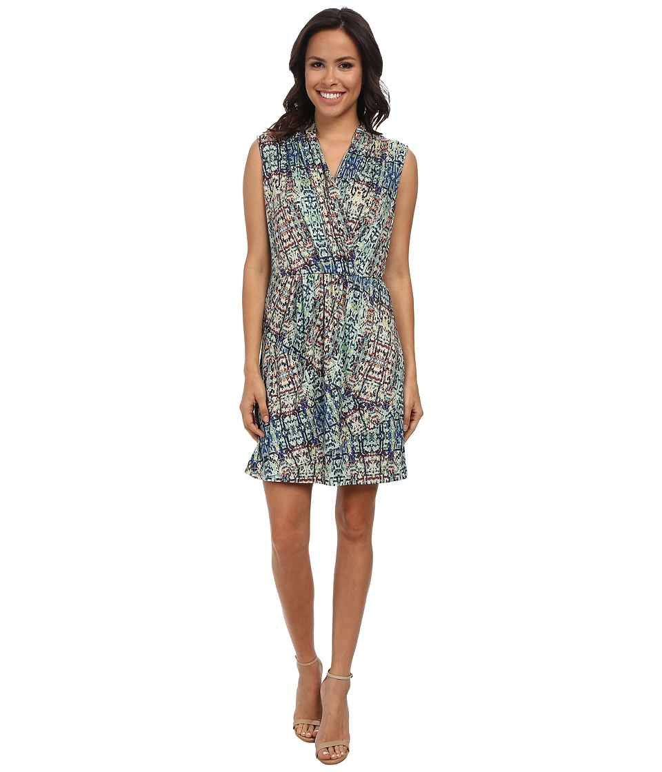 NIC+ZOE Urban Safari Dress (Multi) Women