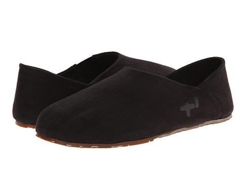 OTZ - Espadrille (Black Linen) Men's Slip on Shoes