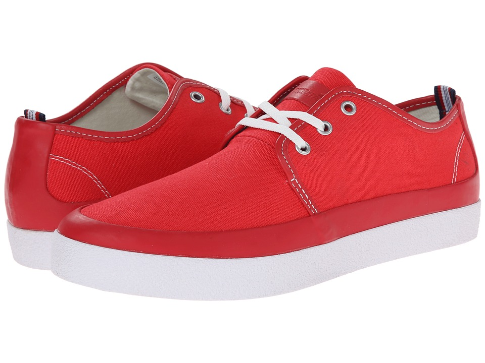 PF Flyers - Perkins (Red Canvas) Men's Lace up casual Shoes