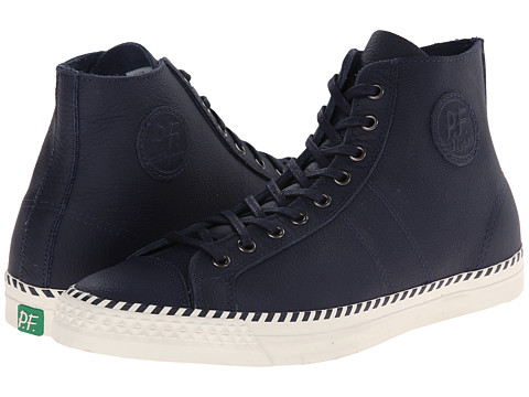PF Flyers - Rambler (Blue Leather) Men's Lace up casual Shoes
