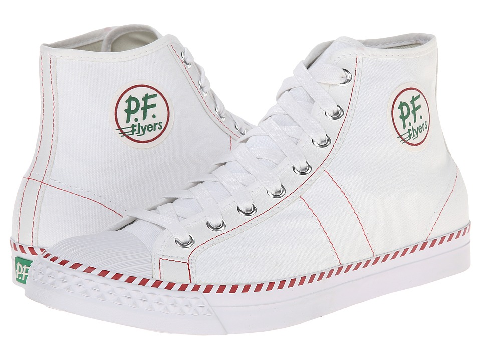 PF Flyers - Rambler (White Canvas) Men