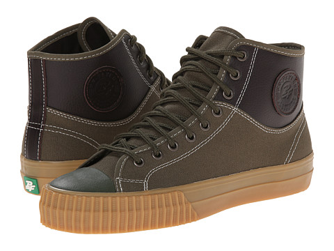 PF Flyers - Center Hi Split (Green) Men's Lace up casual Shoes