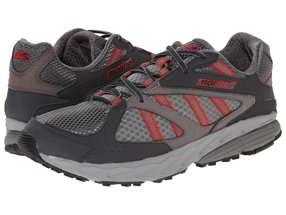 Montrail - Ferocity (Boulder/Sail Red) Men's Shoes