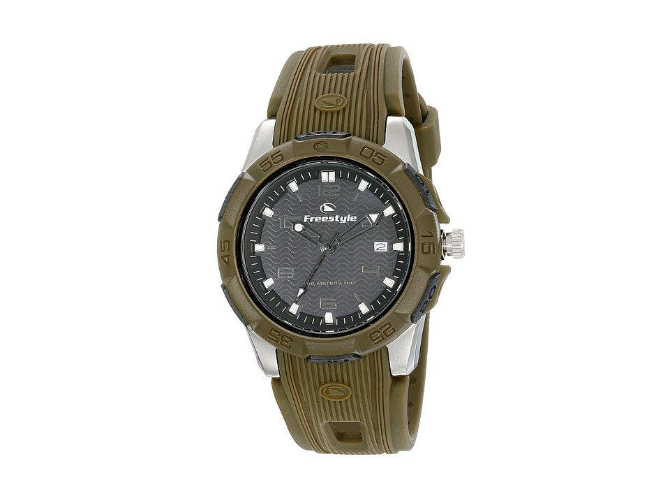 Freestyle - Kampus (Black/Green) Watches
