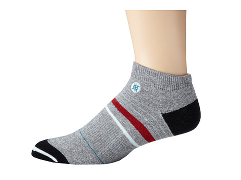 TravisMathew - Strung Socks (Monument) Men's Low Cut Socks Shoes
