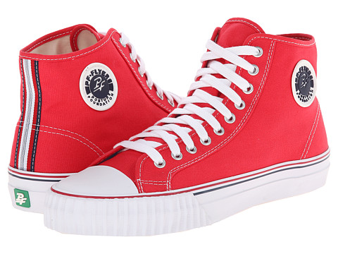 PF Flyers - Center Hi (Red) Men's Shoes