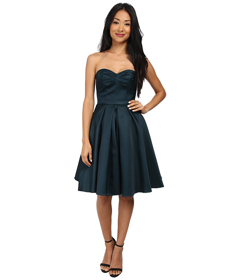 French Connection - Duchess Divine Dress (Jewel Green) Women