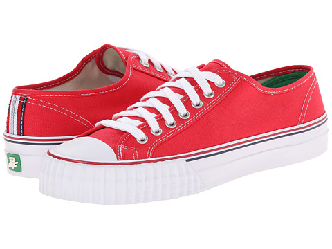 PF Flyers - Center Lo (Red Canvas) Men's Lace up casual Shoes