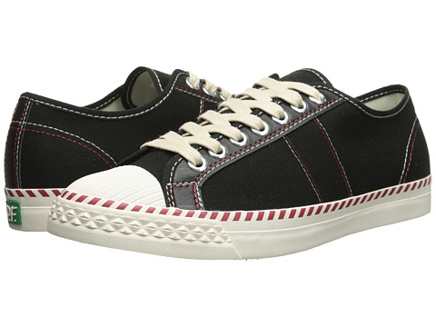 PF Flyers - Rambler Lo (Black Canvas) Men's Lace up casual Shoes
