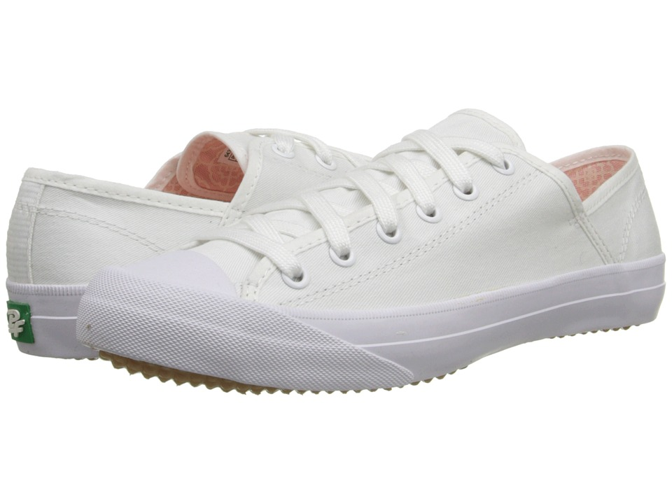 PF Flyers - Sumfun (White Canvas) Women's Lace up casual Shoes