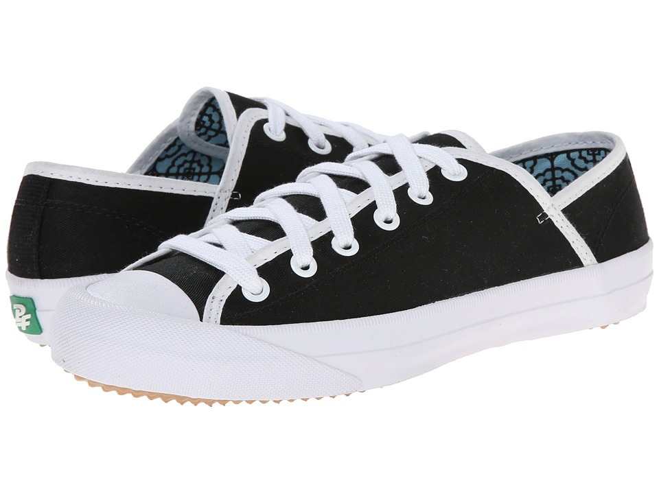 PF Flyers - Sumfun (Black Canvas) Women