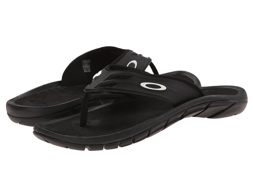 Oakley Womens Treaty Slide Sandals Black Louisiana