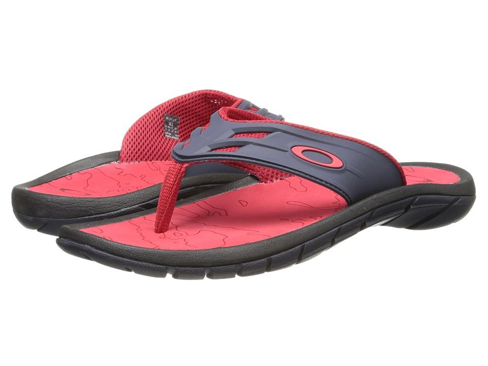 Oakley - Supercoil '15 (Grey/Red) Men's Slide Shoes
