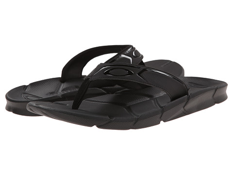 Oakley - Factory Lite (Black) Men's Slide Shoes