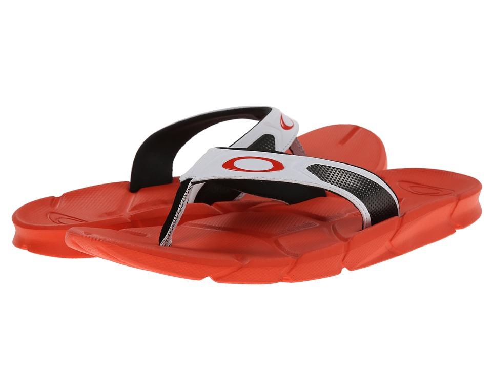 Oakley - Factory Lite (White/Red) Men's Slide Shoes