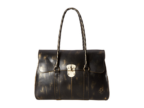 Patricia Nash - Holiday Metallic Vienna Large Satchel (Gold) Satchel Handbags