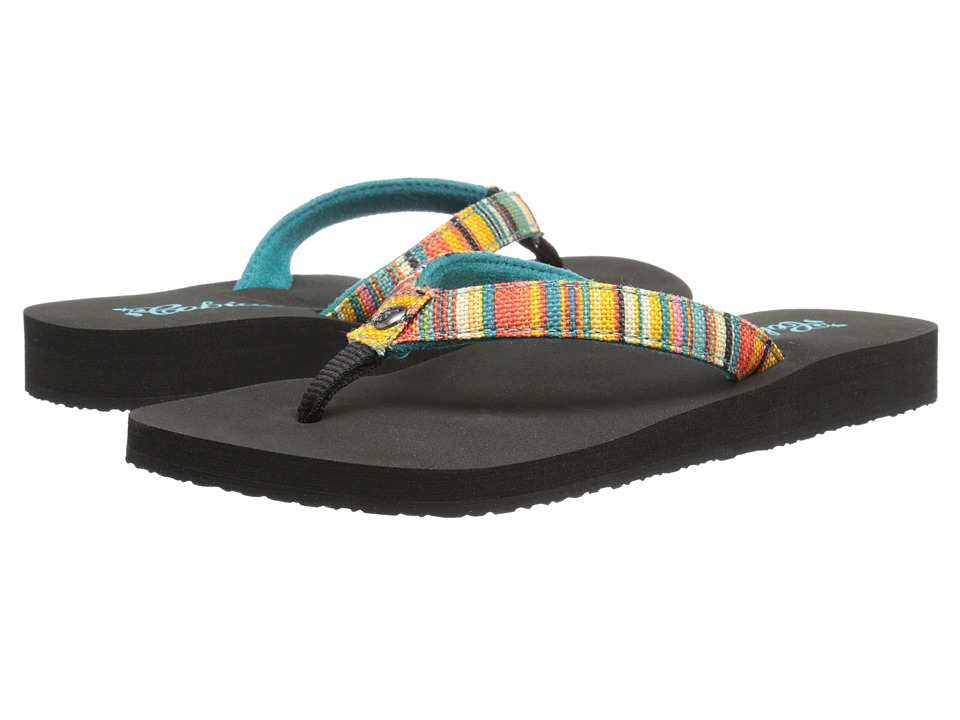 Cobian - Fiesta Skinny Bounce (Striped) Women's Sandals