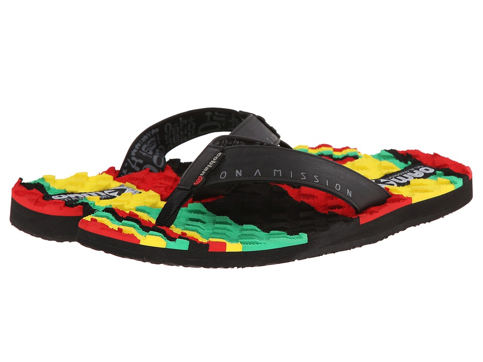 Cobian - OAM Traction Pad (Reggae) Men