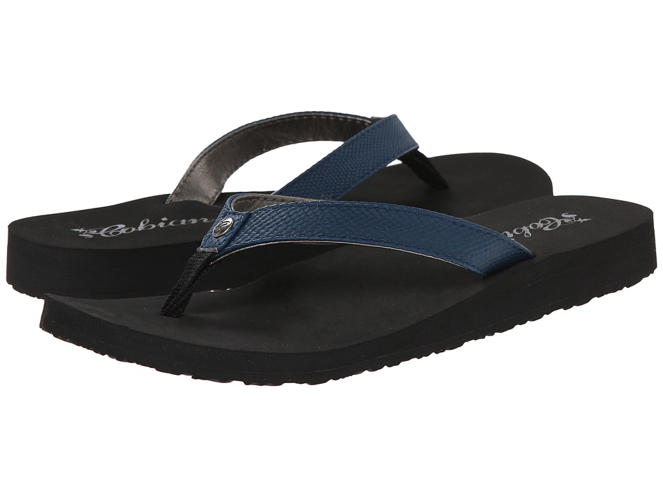 Cobian - Skinny Bounce (Navy) Women's Sandals