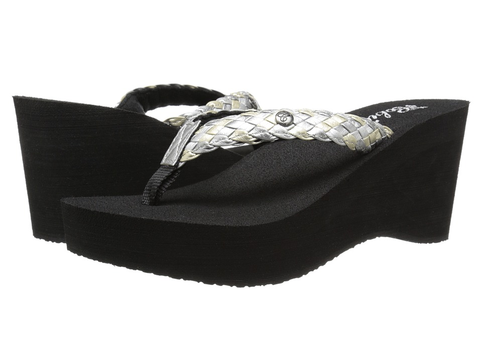 Cobian - Zoe (Silver) Women's Sandals