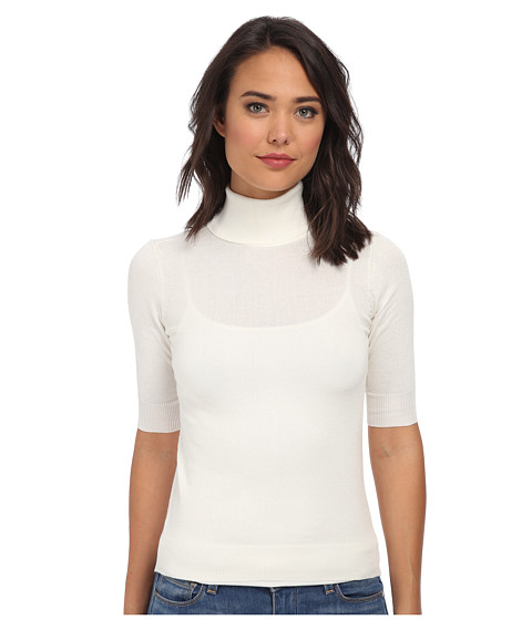 Gabriella Rocha - S/S Turtle Neck (White) Women