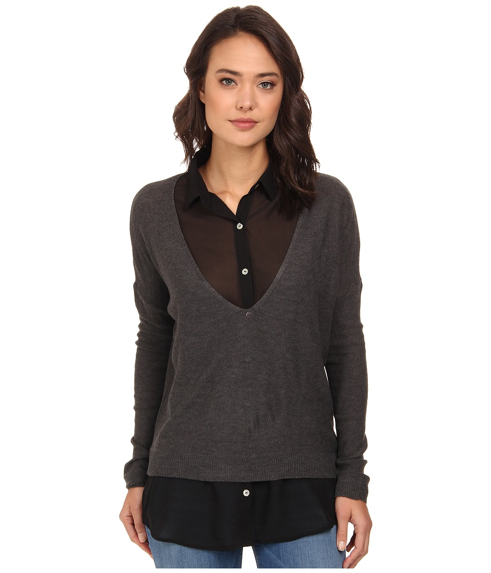 Gabriella Rocha - Briana Sweater (Grey/White) Women's Blouse