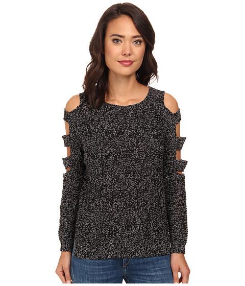 Gabriella Rocha - Cold Shoulder Sweater (Black) Women's Sweater