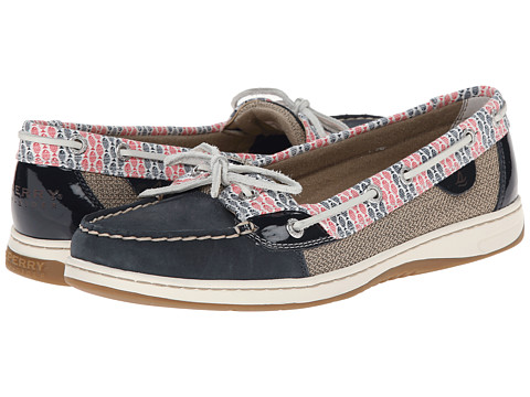 Sperry Top-Sider - Angelfish 2-Eye Prints (Navy/Fish Stripe) Women's Shoes