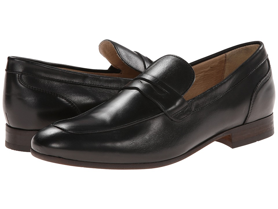 H by Hudson - Reyes (Black Calf) Men's Shoes