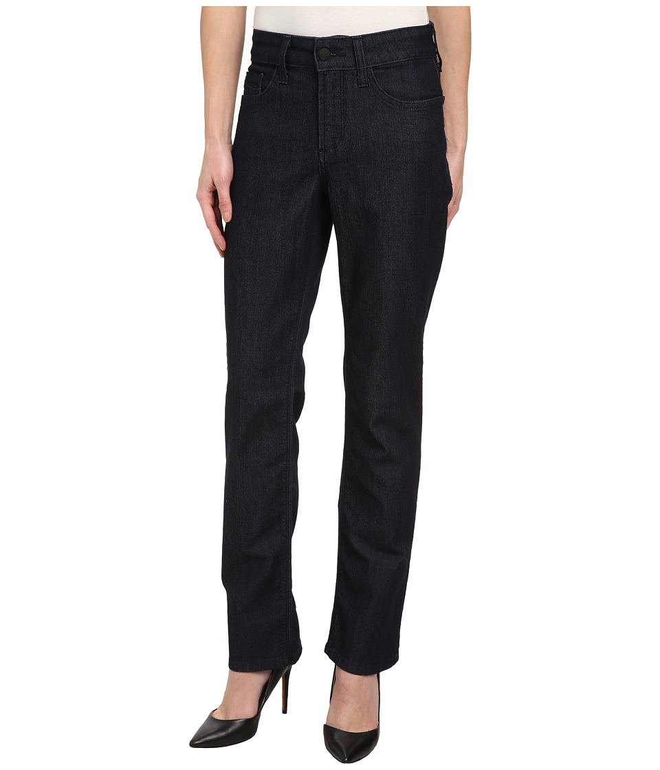 NYDJ Petite - Petite Marilyn Straight in Dark Enzyme (Dark Enzyme) Women's Jeans