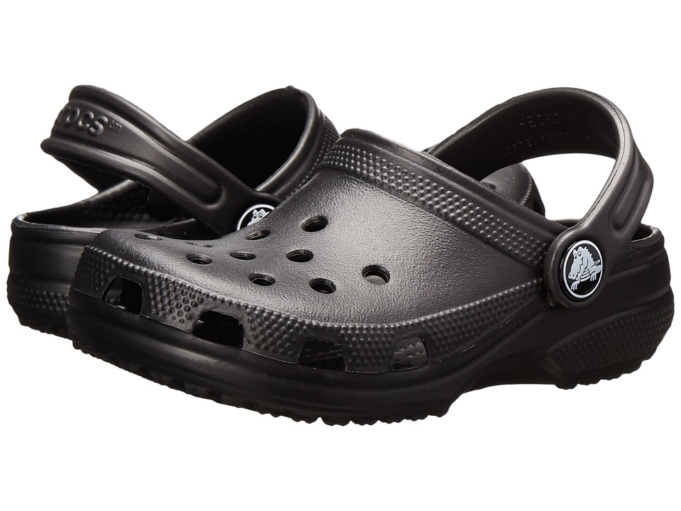 Crocs Kids - Classic (Infant/Toddler/Youth) (Black) Kids Shoes