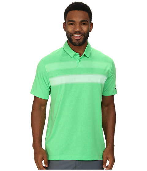 Nike Golf - Major Moment Vapor Polo (Light Green Spark/Anthracite) Men's Short Sleeve Knit