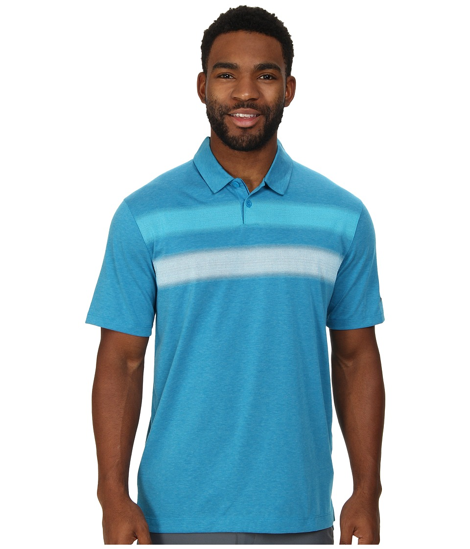 Nike Golf - Major Moment Vapor Polo (Light Blue Lacquer/Anthracite) Men's Short Sleeve Knit