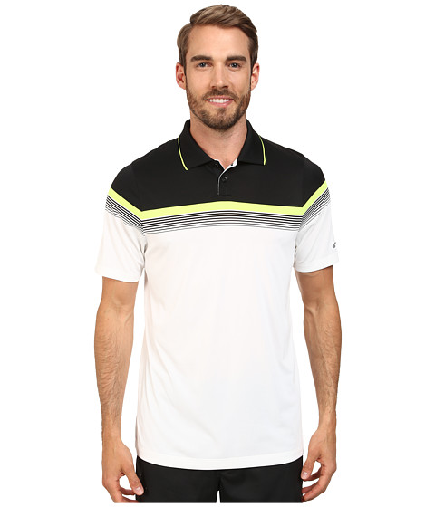 Nike Golf - Major Moment Polo (White/Wolf Grey) Men's Short Sleeve Knit