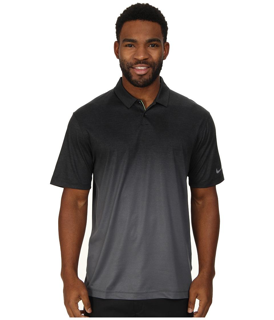 Nike Golf - Afterburner Polo (Black/Black/Wolf Grey) Men's Clothing