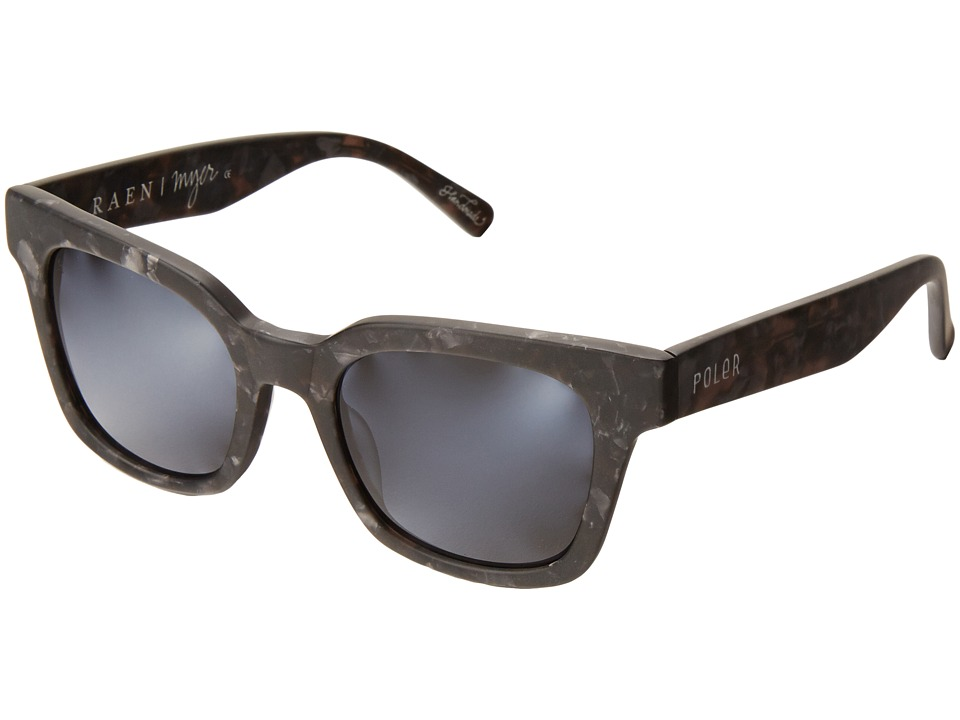 RAEN Optics - Myer (Matte Grey Crystal/Poler Collab) Fashion Sunglasses