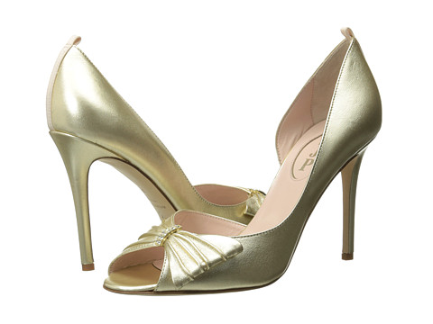 SJP by Sarah Jessica Parker - Doris (Gold) Women's Shoes