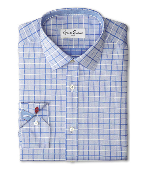 Robert Graham - Jared Dress Shirt (Blue) Men