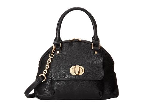 Deux Lux Columbus Satchel (Black) Satchel Handbags