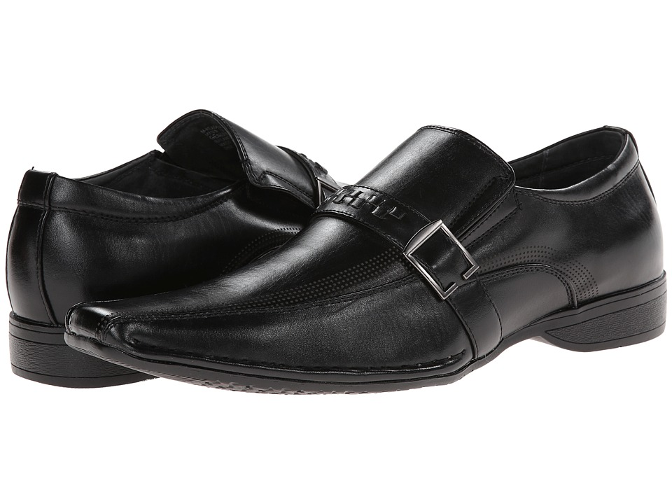 Steve Madden - Reader (Black) Men's Slip on Shoes