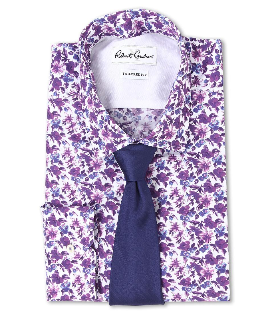 Robert Graham - X Tailored Fit San Remo Dress Shirt (Multi) Men's Long Sleeve Button Up
