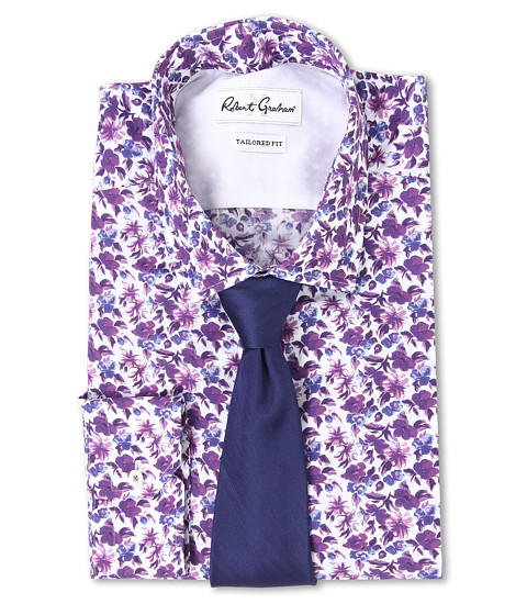 Robert Graham - X Tailored Fit San Remo Dress Shirt (Multi) Men's Long Sleeve Button Up