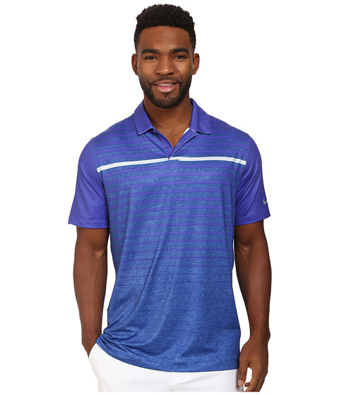 Nike Golf - Major Moment Horizon Polo (Persian Violet/Wolf Grey) Men's Short Sleeve Pullover