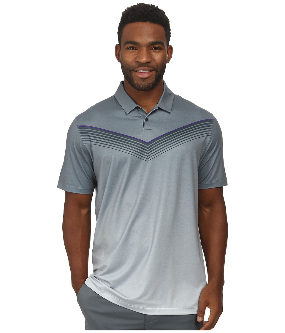 Nike Golf - Major Moment Slow Roll Polo (Classic Charcoal/Anthracite) Men's Short Sleeve Knit