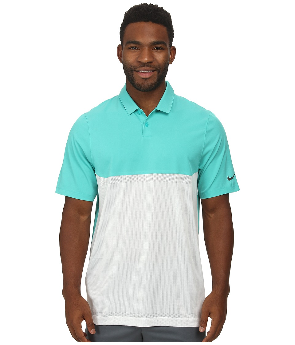 Nike Golf - Major Moment Tactical Polo (Light Retro/White/Light Retro/Anthracite) Men's Clothing