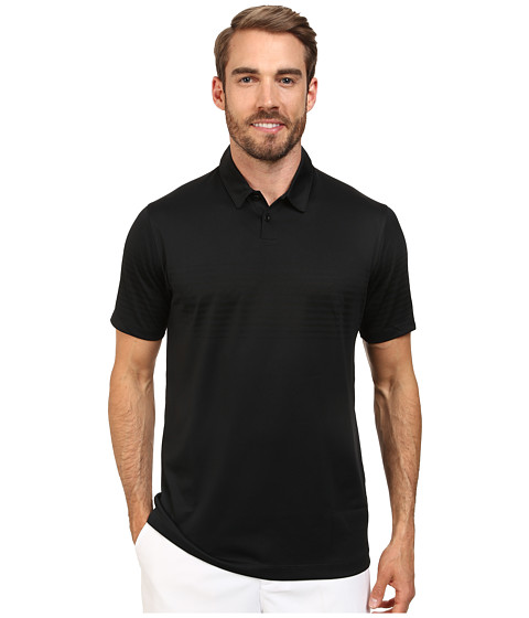 Nike Golf - Major Moment Mach Polo (Black/Anthracite) Men
