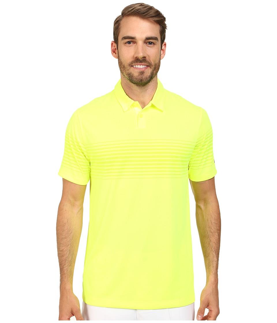 Nike Golf - Major Moment Mach Polo (Volt/Wolf Grey) Men's Short Sleeve Knit