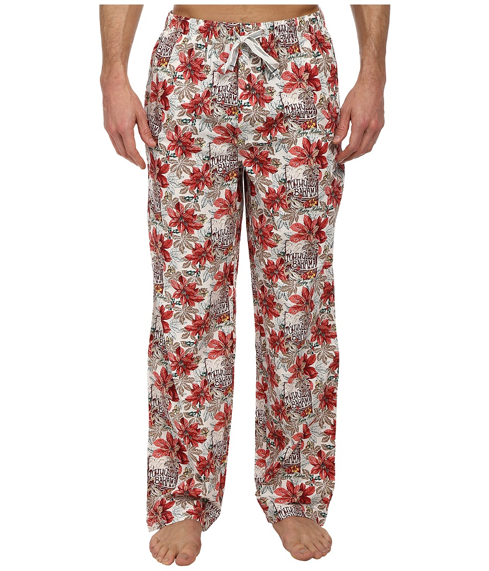 Tommy Bahama - Endless Surf Lounge Pants (Coconut Cream Ivory Plaid) Men's Pajama